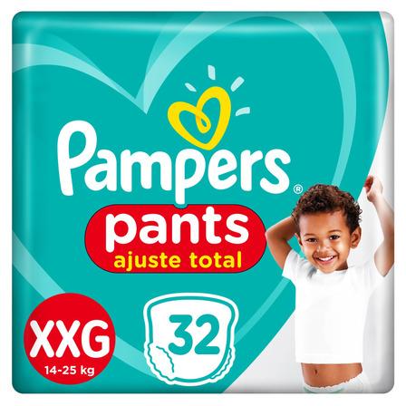 Pañales Pampers Pants Ajuste Total  XXG 32u