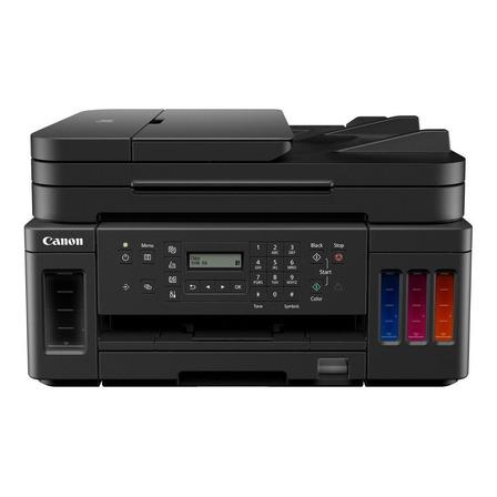 Impresora a color multifunción Canon Mega Tank G7010 con wifi negra 100V/240V