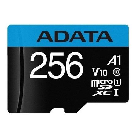 Tarjeta de memoria Adata AUSDX256GUICL10A1-RA1  Premier con adaptador SD 256GB