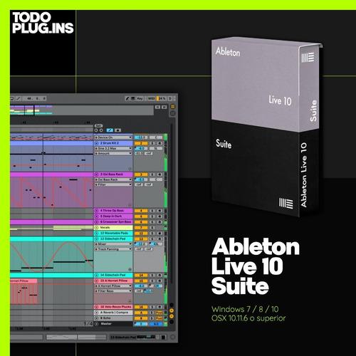 Ableton Live 10 Suite (win/mac) - Todoplugins.