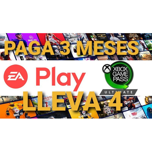 Xbox Game Pass + Live Gold (game Pass Ultimate) 3 Meses