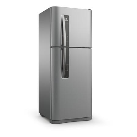 Heladera no frost Electrolux DFN3000  plata con freezer 265L 220V
