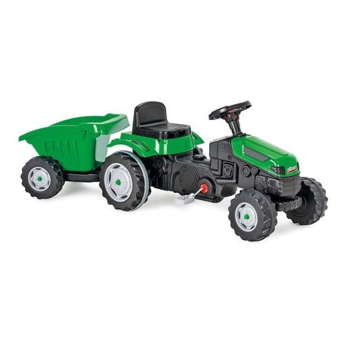 Tractor Montable A Pedal Con Remolque De Carga