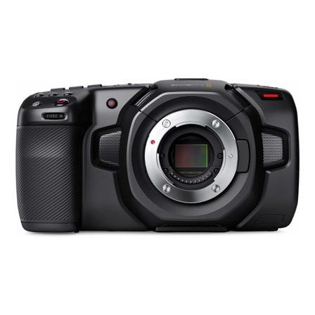Câmera de vídeo profissional Blackmagic Design Pocket Cinema 4K NTSC/PAL preta
