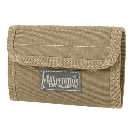 Billetera Maxpedition Spartan khaki nylon balístico