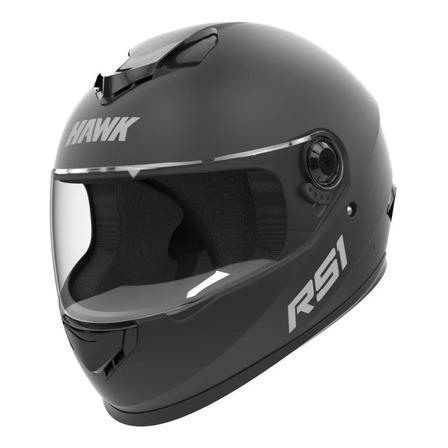 Casco para moto integral Hawk RS1 negro mate talle M