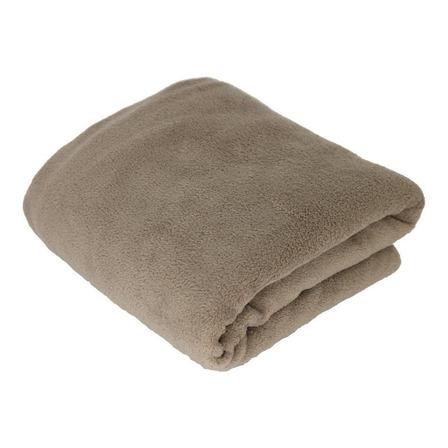 Cobertor Hazime Enxovais Microfibra Solteiro marrom-claro