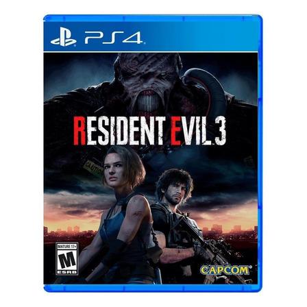Resident Evil 3 Remake Físico PS4 Capcom