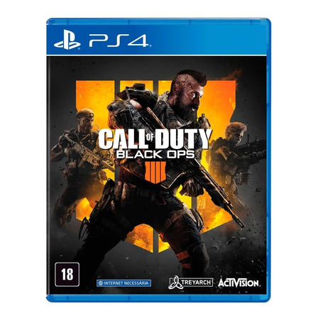 Call of Duty: Black Ops 4 Standard Edition Físico PS4 Actvision