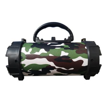 Alto-falante Grasep D-P13 portátil com bluetooth camuflado