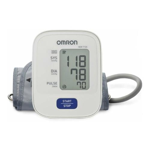 Monitor de presión arterial digital de brazo automático Omron HEM-7120