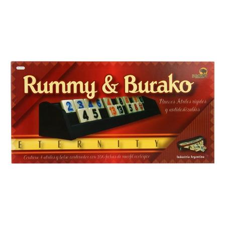 Juego de mesa Rummy & Burako Eternity Bisonte