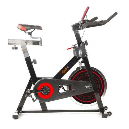 Bicicleta fija spinning Quuz Cycle gris oscuro
