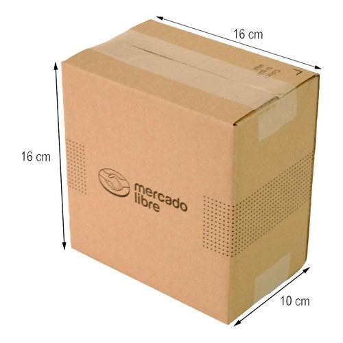 Caja Carton E-commerce 16x10x16 Cm Paquete 25 Piezas C01