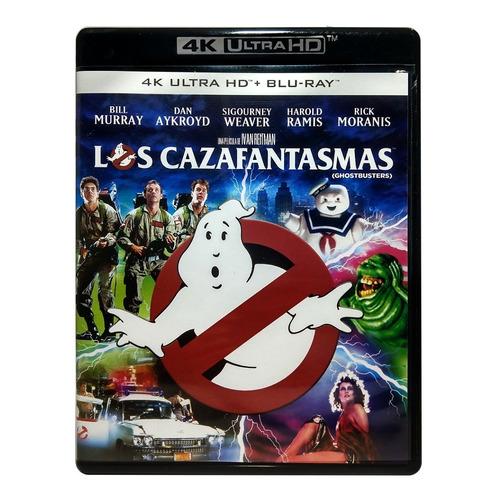 Los Cazafantasmas Ghostbusters 4k Ultra Hd + Blu-ray