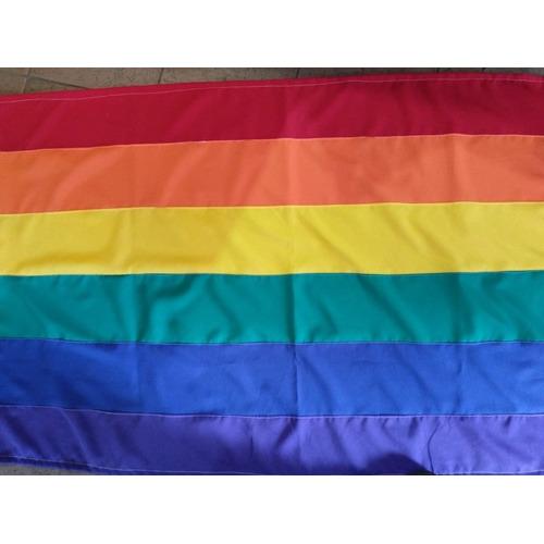 Bandera Lgbt Diversidad Arcoiris De Buena Calidad Y Grande