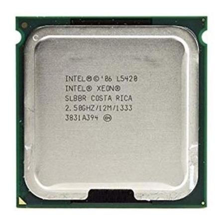 Processador Intel Xeon L5420 EU80574JJ060N de 4 núcleos e 2.5GHz de frequência