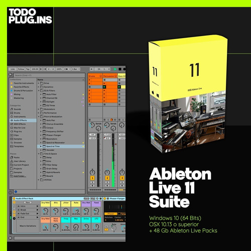 Ableton Live 11 Suite (win/mac) + Live Packs - Todoplugins.
