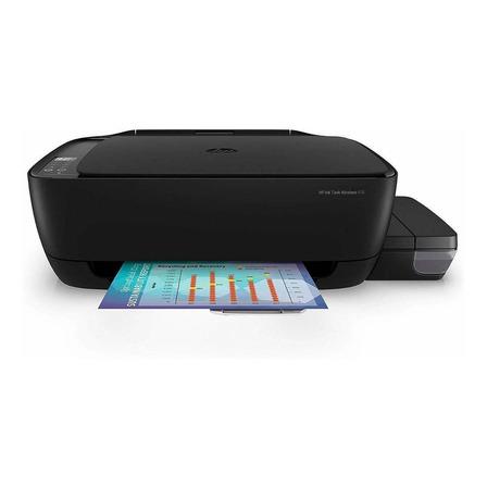 Impressora a cor multifuncional HP Ink Tank Wireless 416 com wifi 110V/220V preta