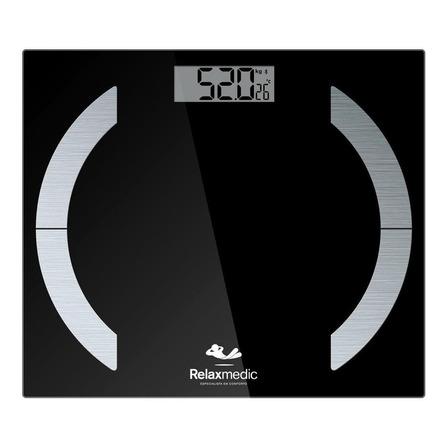 Balança corporal digital Relaxmedic Elegance App, hasta 180 kg