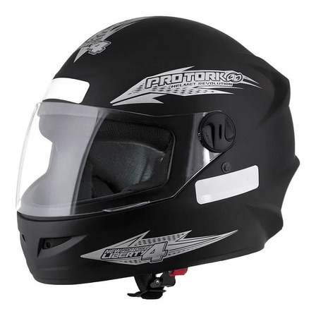 Capacete para moto  integral Pro Tork New Liberty  Four  preto-fosco solid tamanho 60