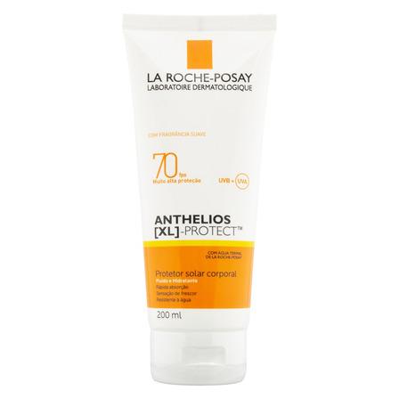 Protetor Solar Fluido Hidratante Anthelios Xl Protect Corporal 70 FPS La Roche-Posay Bisnaga 200ml