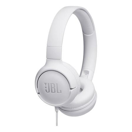 Fone de ouvido JBL Tune 500 branco