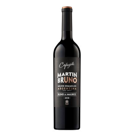 Vino tinto Malbec y Tannat Cafayate Bruno Blend bodega Etchart 750ml