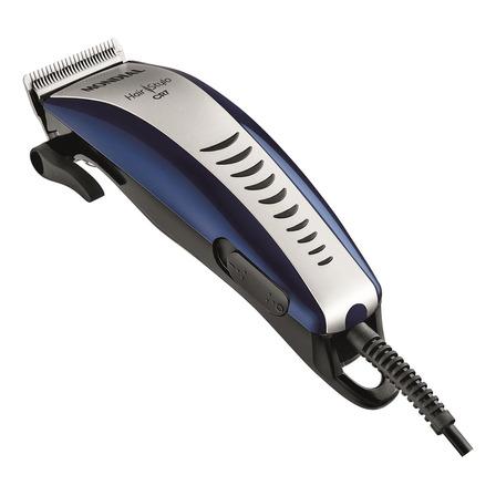 Cortador de cabelo Mondial Hair Stylo CR-07 8910-01  azul e prata 110V