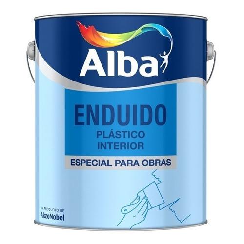 Enduido Plastico Para Interior Alba X 4 Lts.