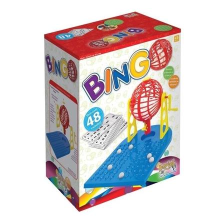 Jogo de mesa Bingo 48 Cartelas Kepler