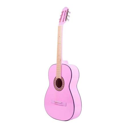 Guitarra clásica infantil La Purepecha Tercerola rosa