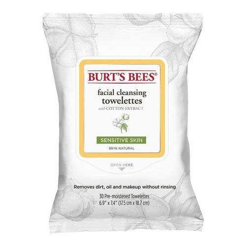 Toallitas Desmaquillantes Sensitive, Burt's Bees