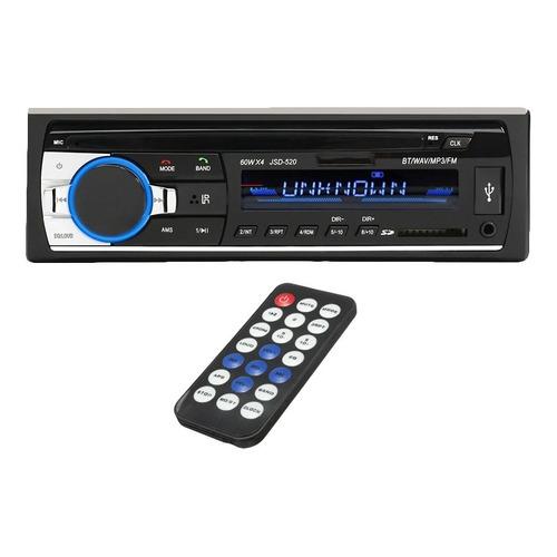 Stereo Bluetooth Estereo Auto Usb Mp3 Fm Cuotas Sin Interes!