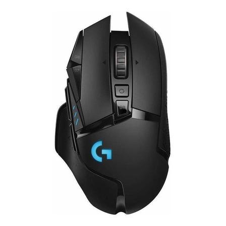 Mouse de juego inalámbrico recargable Logitech  G Series Lightspeed G502 negro