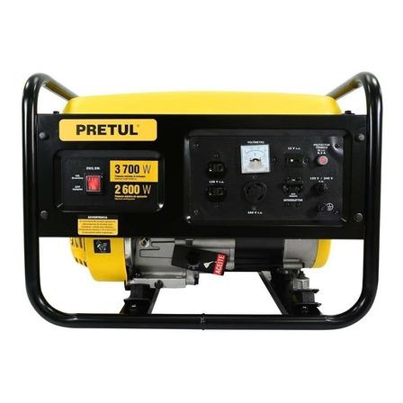 Generador portátil Pretul GEN-26P 2600W monofásico 120V/240V