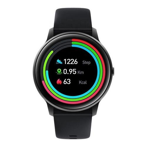 """Smartwatch IMILAB KW66 Smart Watch 1.28"""" caja de  aleación de zinc  black malla  black"""