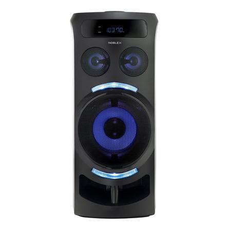 Parlante Noblex MNT290 portátil con bluetooth negro 220V