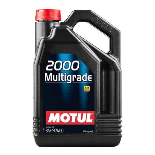 Motul 2000 20w50 Multigrado 4 Lt Mineral Aceite Motor Nafta