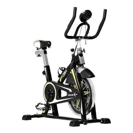 Bicicleta ergométrica Kikos F3i para spinning preta