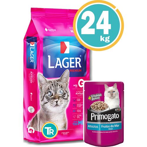 Ración Para Gato - Lager Adulto + Obsequio Y Envío Gratis