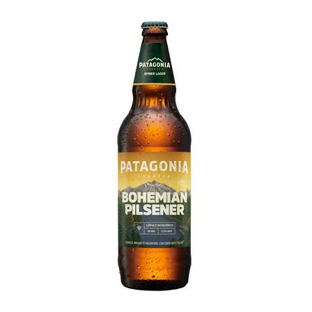 Cerveza Patagonia Bohemian Pilsener rubia 730mL