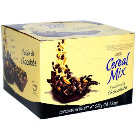 Arcor Cereal Mix  sabor pasión de chocolate 26g pack x 20