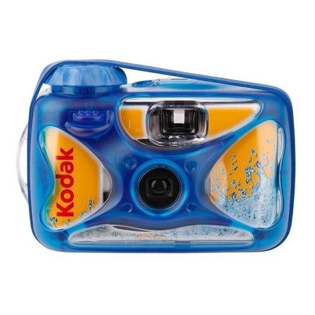 Câmera descartável Kodak Sport azul/amarela