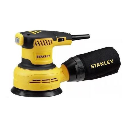 Lixadeira roto orbital Stanley SS30 amarela placa de 125mm 60Hz 127V