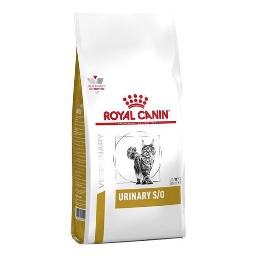 Alimento Royal Canin Veterinary Diet Feline Urinary S/O para gato adulto sabor mix en bolsa de 8kg