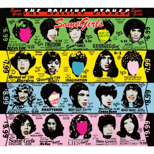 Some Girls - The Rolling Stones - 2 Discos Cd - Nuevo