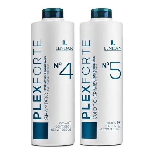 Lendan Plex Forte Kit Shampoo + Acondicionador 300ml C/u