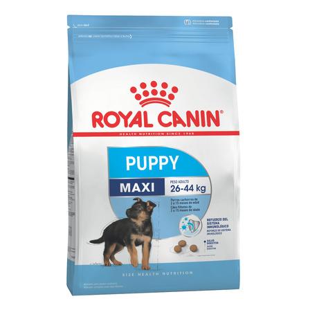 Alimento Royal Canin Size Health Nutrition Maxi Puppy para perro cachorro de raza grande sabor mix en bolsa de 15kg