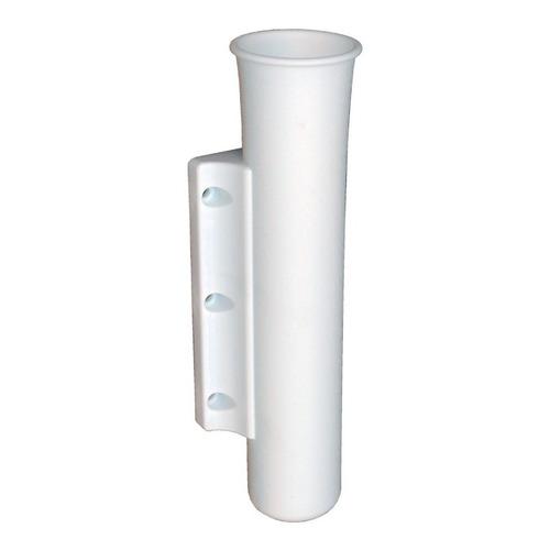 Porta Caña Plástico Blanco Lateral Para Exterior Lancha